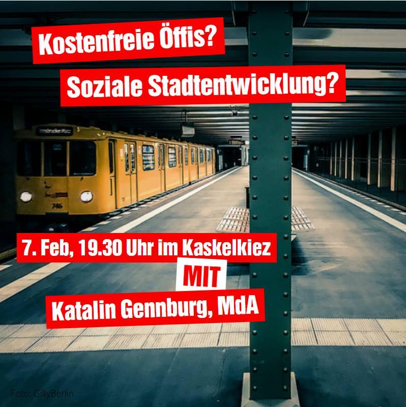 Jung & Kritisch: kostenfreier Nahverkehr und Stadtentwicklung, 7.2.2018